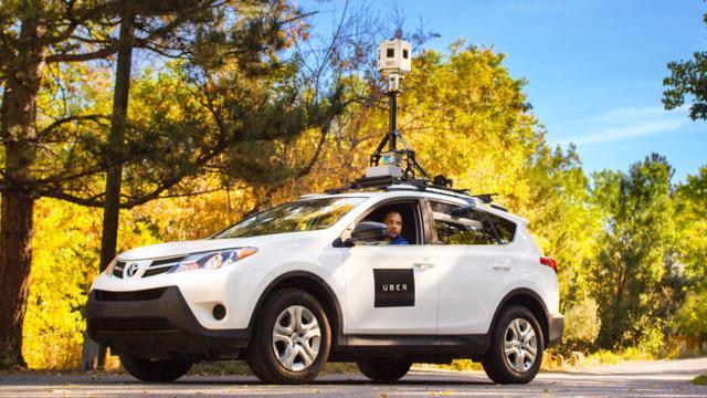 Uber heeft eigen camera-auto's om kaarten te verbeteren