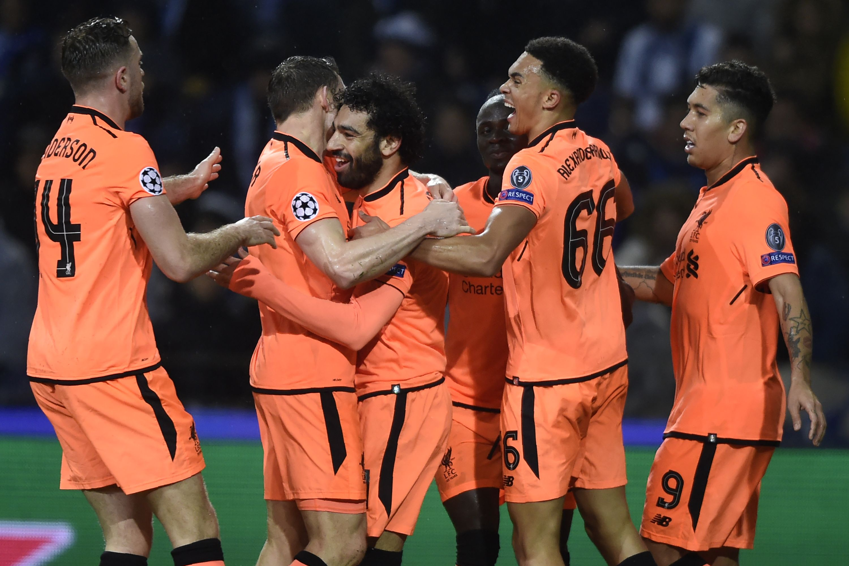 Mané leidt Liverpool met hattrick naar klinkende zege bij Porto