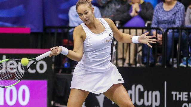 Kerkhove debuteert op Wimbledon na knappe zege op oud-finaliste Lisicki