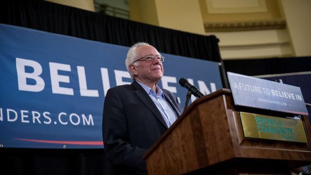 Bernie Sanders wint voorverkiezing in Wyoming