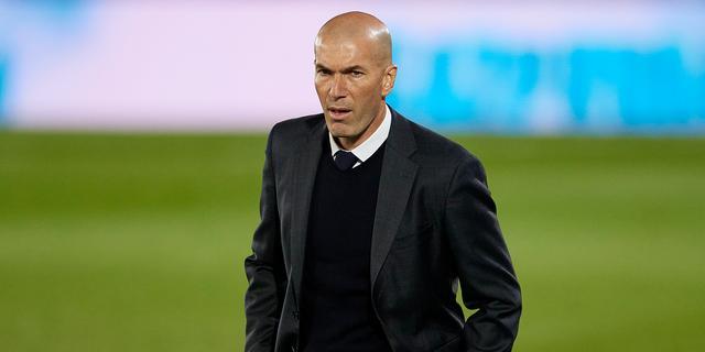 Zidane haalt gram bij journalisten: 'Ben toch niet zo'n rampzalige trainer'