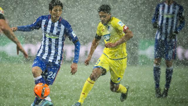 Stevens verliest met Hoffenheim in de sneeuw, Inter aan kop in Italië