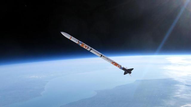 Raket uit Delft breekt Europees record