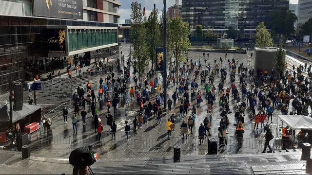Honderden mensen verwacht bij demonstratie op Jaarbeursplein in Utrecht