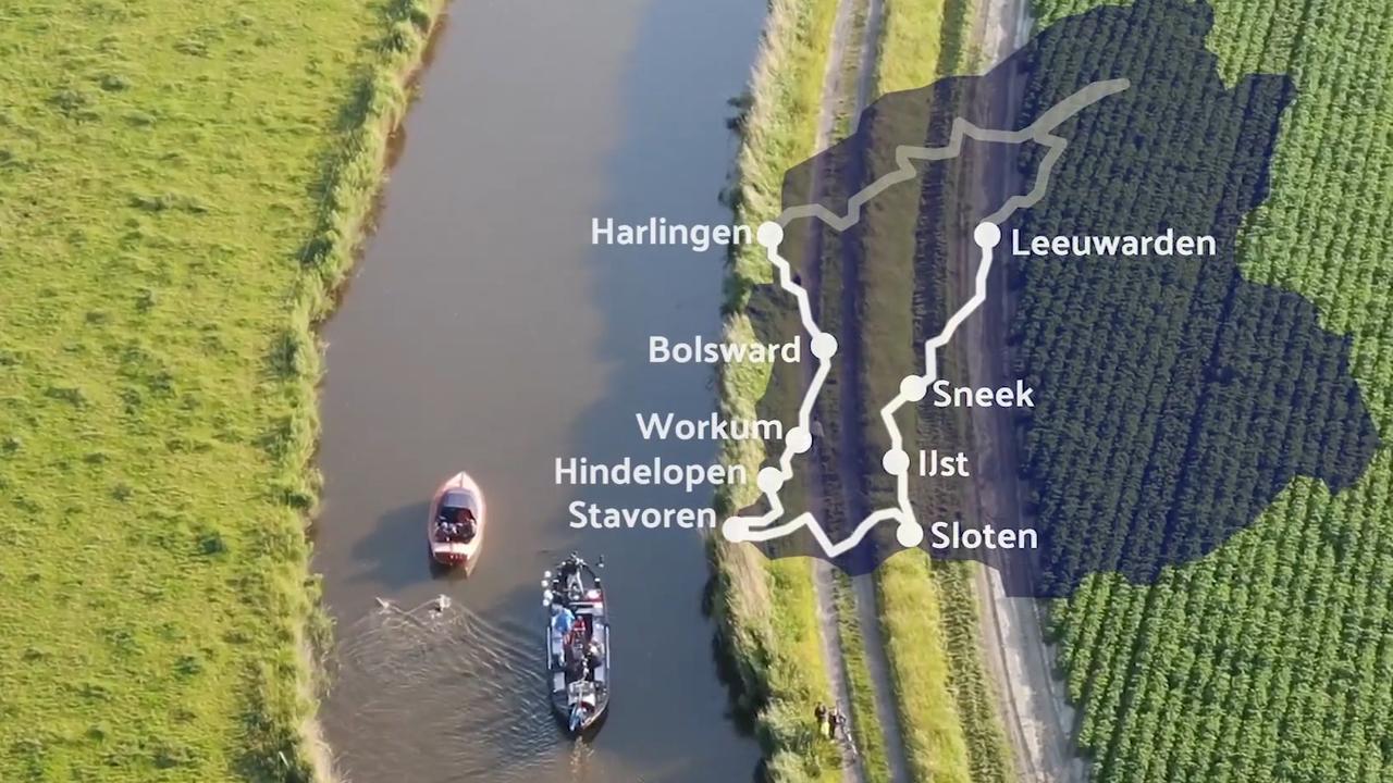 Zo verliep de elfstedenzwemtocht van Maarten van der Weijden