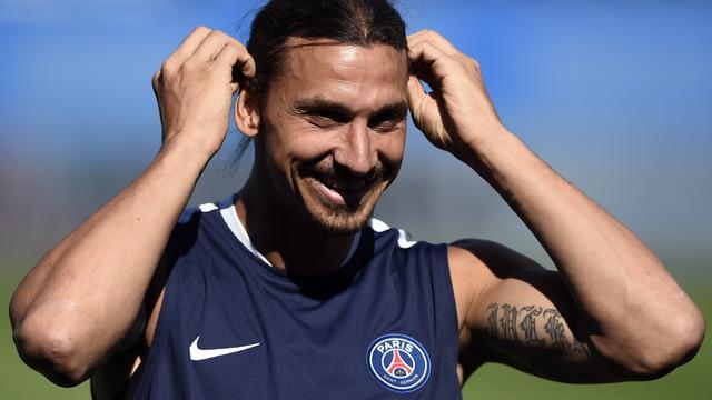 Ibrahimovic mist eerste competitieduel PSG vanwege knieblessure