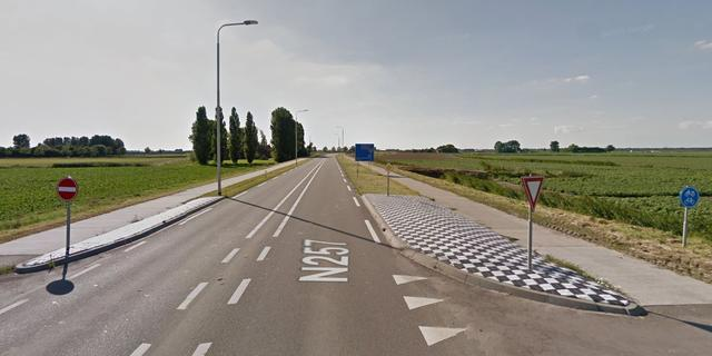 Vier gewonden bij aanrijding Nieuw-Vossemeer