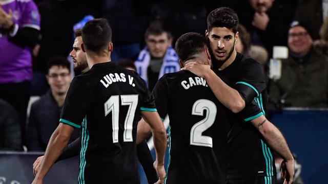 Real Madrid laat langs Leganes in eerste duel kwartfinale Copa del Rey