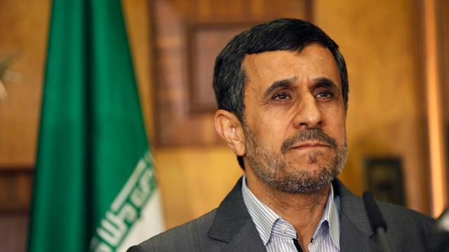 Oud-president Iran Ahmadinejad stelt zich opnieuw verkiesbaar