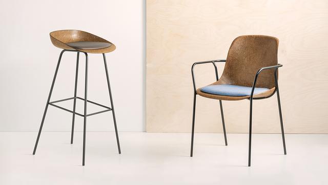 De hennepstoel van de meubelmakers van VepaDrentea.
