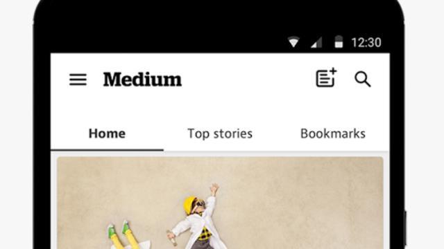 Blogplatform Medium brengt Android-app uit
