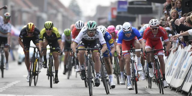 Sagan evenaart record met derde zege in Gent-Wevelgem