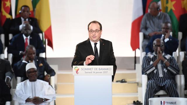 Frankrijk gaat nauwer samenwerken met  Afrikaanse landen tegen terreur