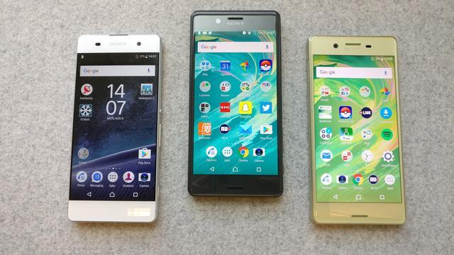 'Sony onthult vijf nieuwe Xperia-telefoons tijdens MWC'