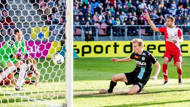 Kostbare zege De Graafschap bij FC Utrecht, Twente verslaat Excelsior