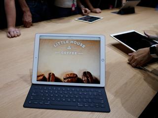 Nieuwste iPad-model valt tussen wal en schip