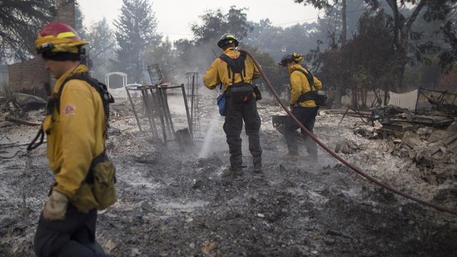Dodental bosbranden Californië stijgt naar zes