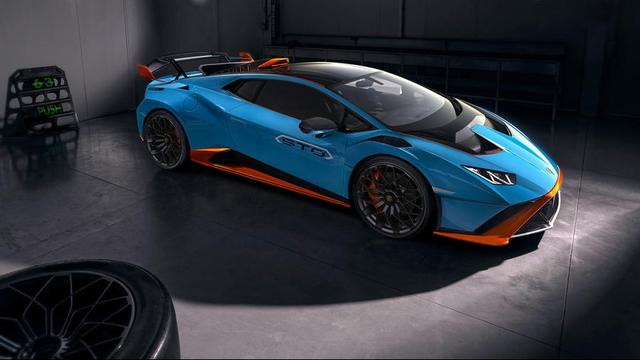Lamborghini presenteert lichtgewicht STO-versie van Huracán