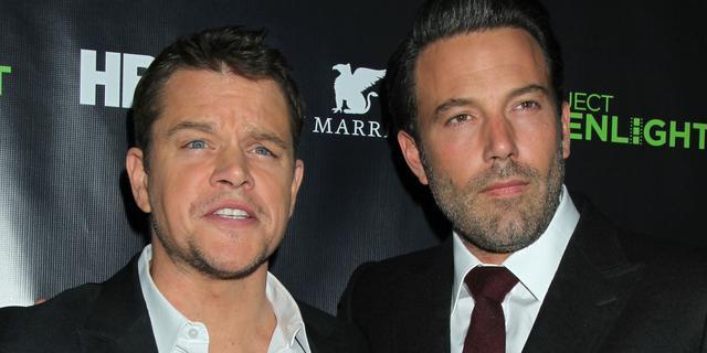 Matt Damon en Ben Affleck spelen samen in zelfgeschreven film