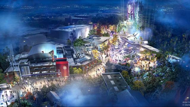 Disney opent in Parijs en Californië themaland rondom superhelden