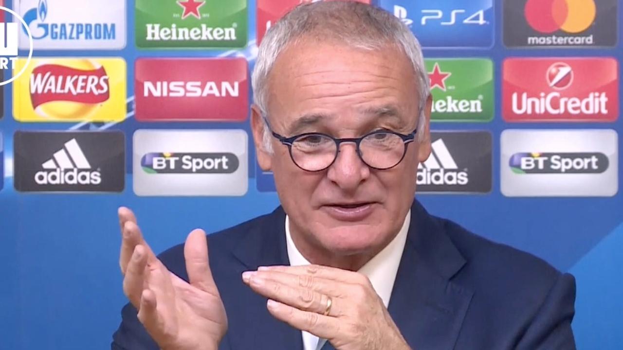 Ranieri stelt dat spelers Leicester met mentaal probleem kampen