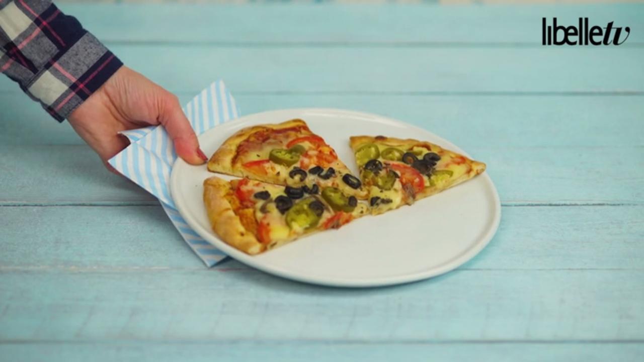 Restjes pizza? Zo maak je ze de volgende dag weer knapperig