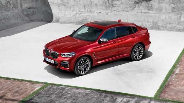 BMW presenteert nieuwe X4