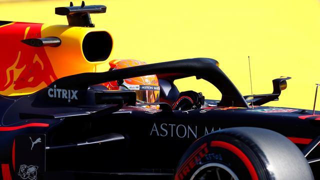 Verstappen vijfde in laatste vrije training GP België, Hamilton crasht
