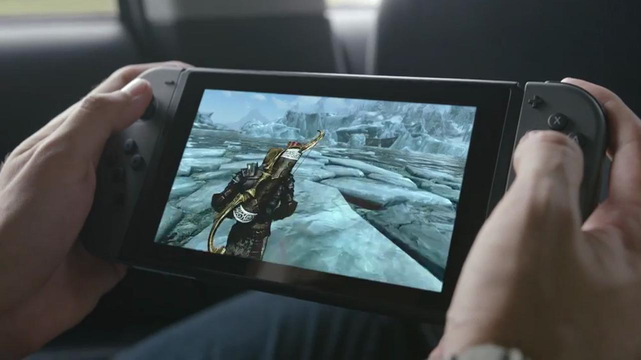 Eerste beelden van Nintendo's nieuwe spelcomputer Switch