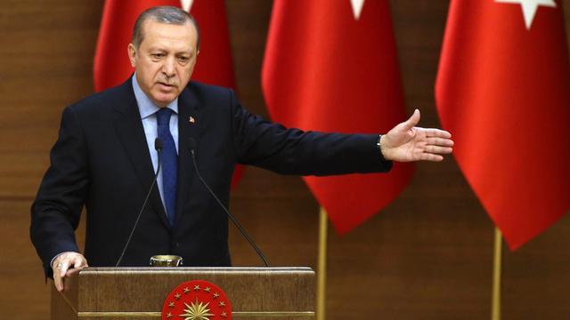 Erdogan wil na referendum relatie met EU onderzoeken