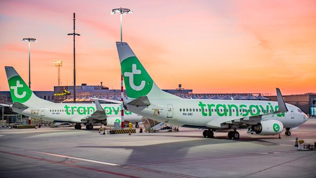 Transavia houdt toestellen tot zeker eind mei aan de grond