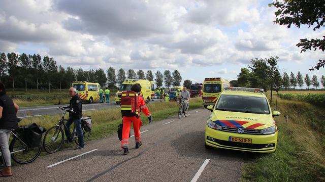 Filmers van ongeval in Wilhelminadorp krijgen bekeuring
