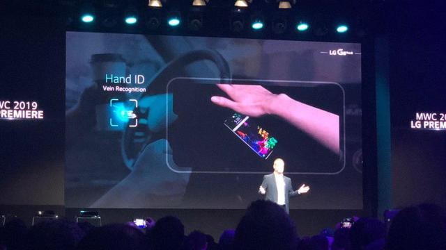 LG toont G8 ThinQ-smartphone met handpalmscanner