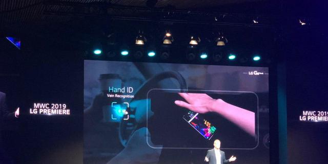 LG toont G8 ThinQ-smartphone met handpalmscanner