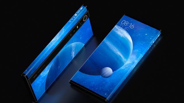 Xiaomi kondigt telefoon aan met scherm rondom