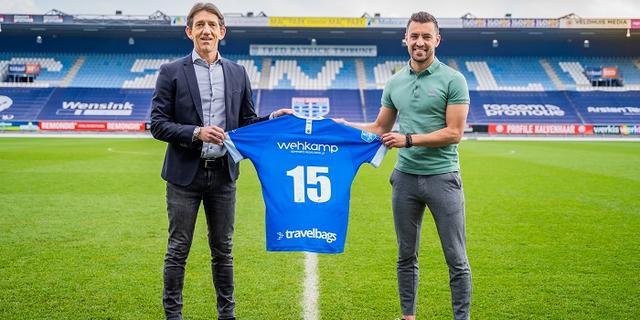 Van Polen (35) blijft PEC Zwolle trouw en tekent bij voor vijftiende seizoen