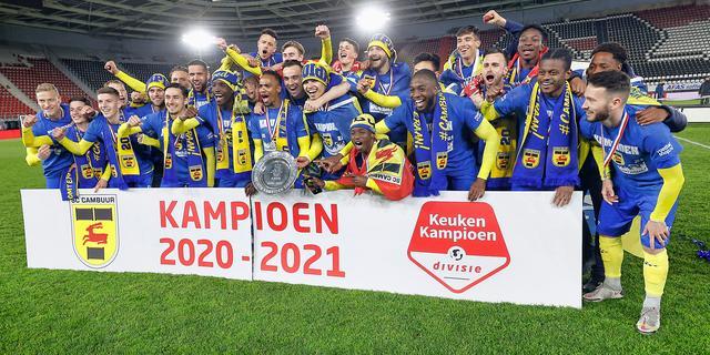 Feestvreugde bij kampioen Cambuur: 'We zijn al het hele seizoen de beste'