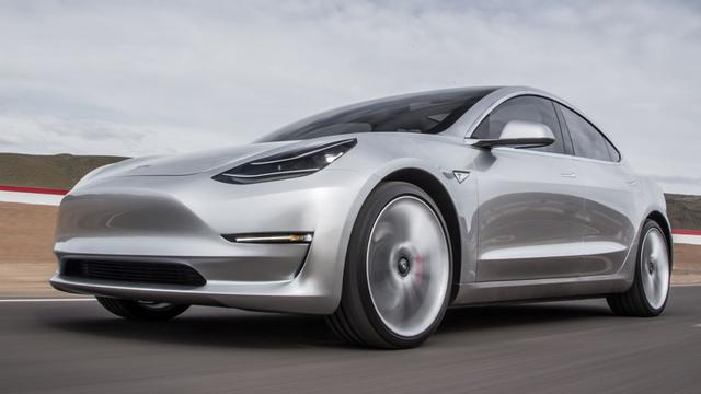 'Tesla Model 3 pas in 2018'