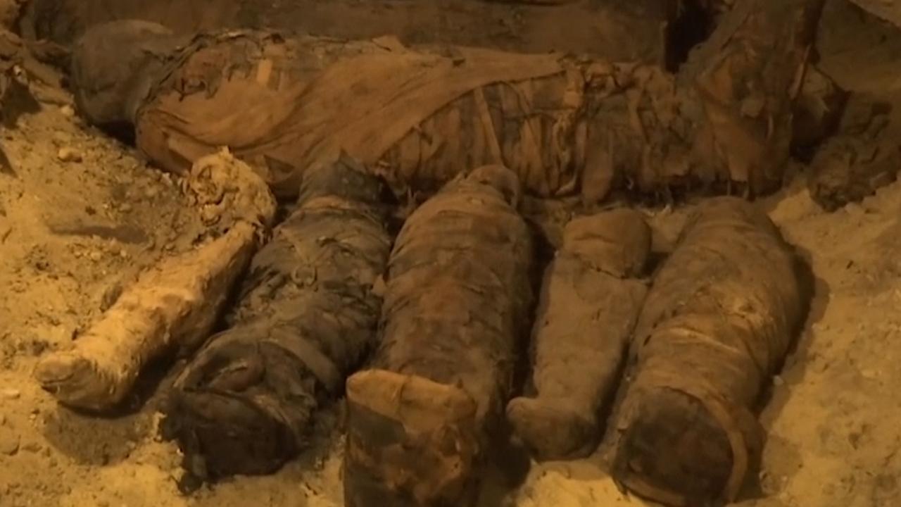 Familiegraf met tientallen mummies ontdekt in Caïro
