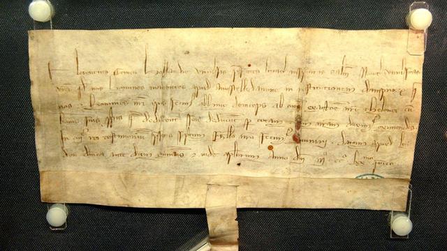 Oudste Amsterdamse document te zien voor publiek