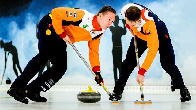 Curlers boeken tegen Finland eerste zege in olympisch kwalificatietoernooi