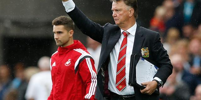 Van Gaal baalt van 'onnodige nederlaag' United bij Swansea City