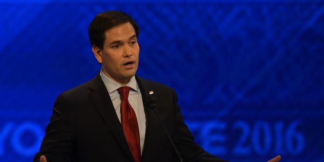 Rivalen halen uit naar 'onervaren' Rubio in Republikeins debat