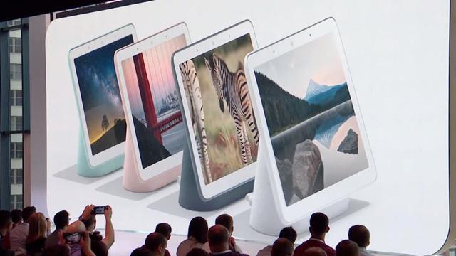 Google presenteert slimme Home-speaker met tabletscherm