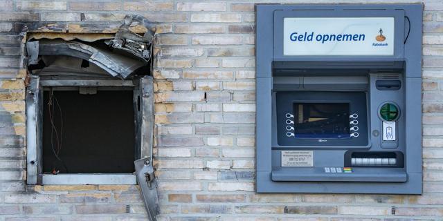Aantal plofkraken fors gedaald na invoering nachtelijke sluiting geldautomaten