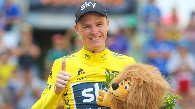 'Froome mag in Tour de France starten na vrijspraak in salbutamolzaak'