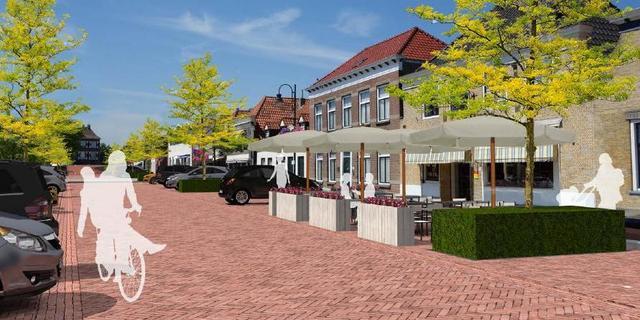 Voorstraat Fijnaart krijgt nieuwe inrichting