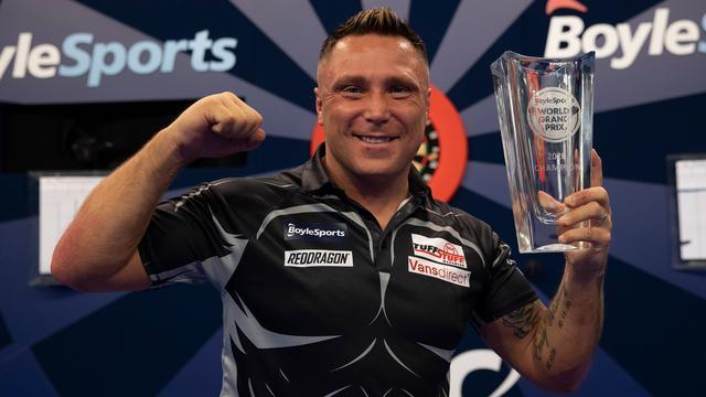 Gerwyn Price liet dit jaar zien tot de top te behoren door een aantal toernooien te winnen.