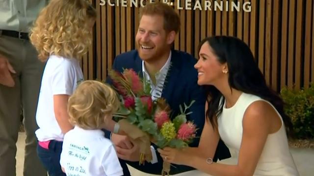 Meghan en Harry openen onderzoekscentrum in dierentuin Australië