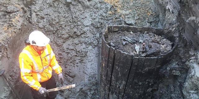 Eeuwenoude waterput gevonden in Kostverloren